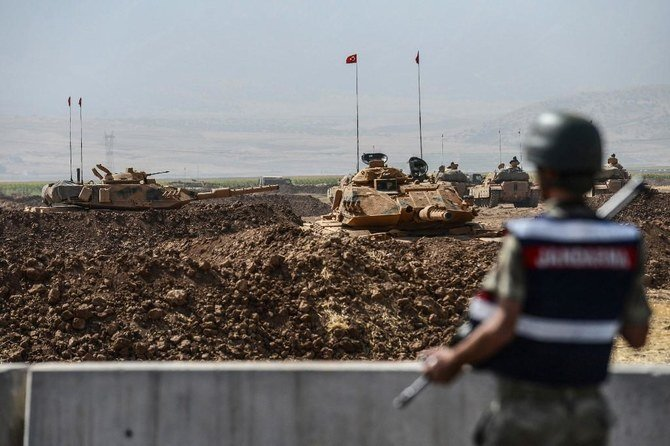 4 Turkish soldiers killed in Syria