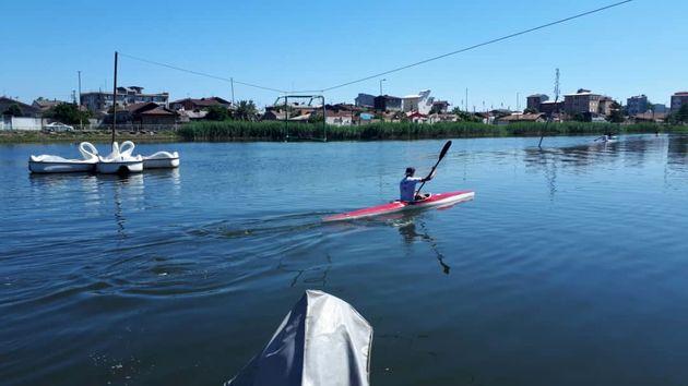 برپایی اردوی تیم ملی قایقرانی آبهای آرام در رشت