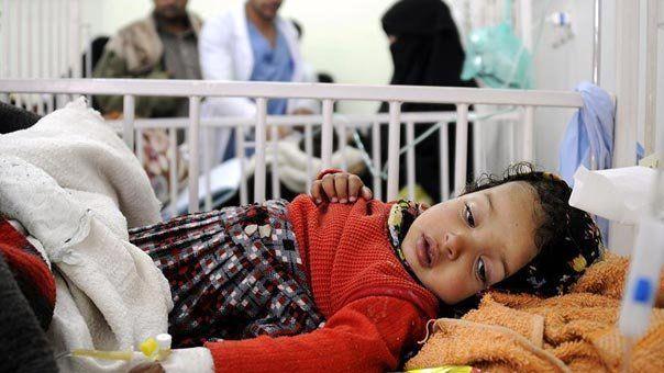 755 هزار نفر از مردم یمن به وبا مبتلا هستند