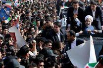 ازدحام جمعیت باعثکندی ورود رئیس جمهور به استادیوم آزادی شد