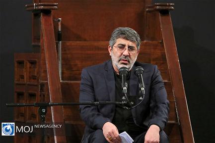 عزاداری شهادت امام سجاد (ع) با حضور مقام معظم رهبری