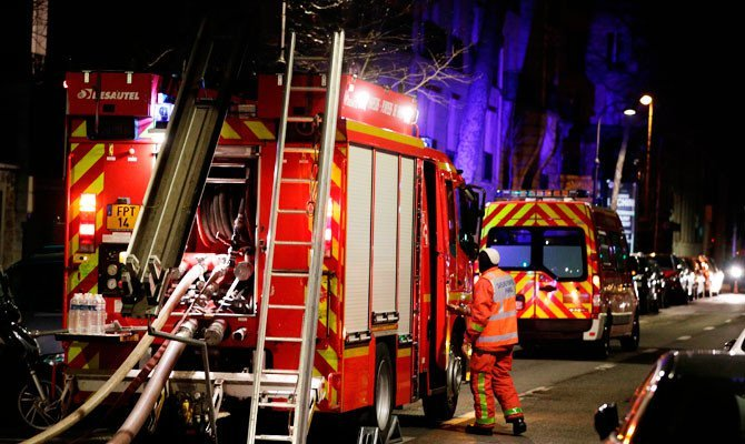 7 کشته در آتش سوزی پاریس