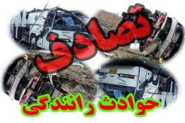 برخورد دو دستگاه تریلی حامل سوخت در استان خراسان جنوبی