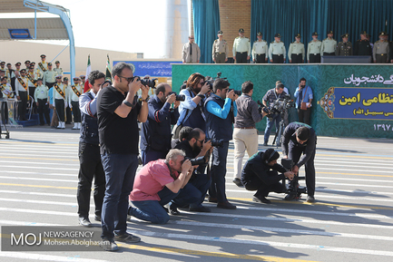 چهلمین مراسم دانشآموختگی دانشجویان دانشگاه علوم انتظامی امین