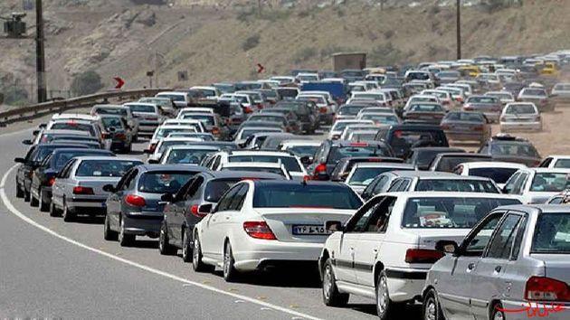محدودیتهای ترافیکی محورهای مواصلاتی کشور در 10 فروردین