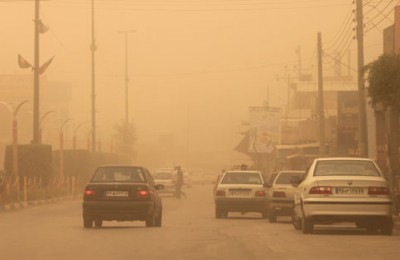 هشدار به زائران اربعین؛گرد و غبار در استان های ایلام و خوزستان