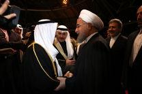 دعوت روحانی از امیر کویت برای سفر به تهران