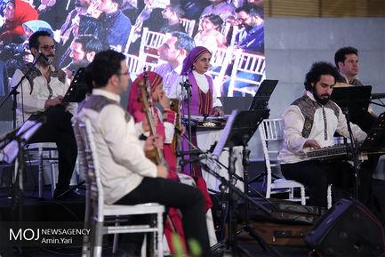 کنسرت خیابانی محمد معتمدی