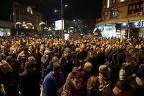 ادامه اعتراضات ضد دولتی در بلگراد