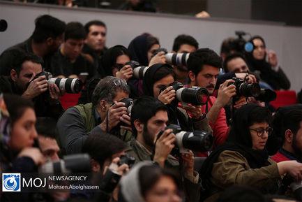 نشست خبری فیلم «دوزیست» به کارگردانی برزو نیک نژاد