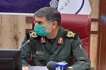 مرکز تنفسی سپاه روزانه 200 بیمار کرونایی را بصورت سرپایی پذیرش می کند
