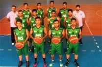 نماینده بسکتبال هرمزگان به جمع هشت تیم برتر کشور صعود کرد