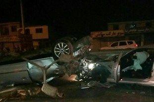 تصادف زنجیرهای 56 خودرو در محور قزوین – کرج