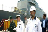 بازدید دریادار خانزادی از کارخانجات نیروی دریایی ارتش