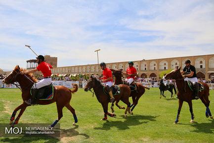 مسابقات نوروزی چوگان در اصفهان