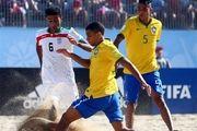 آخرین رده بندی جهانی فوتبال ساحلی