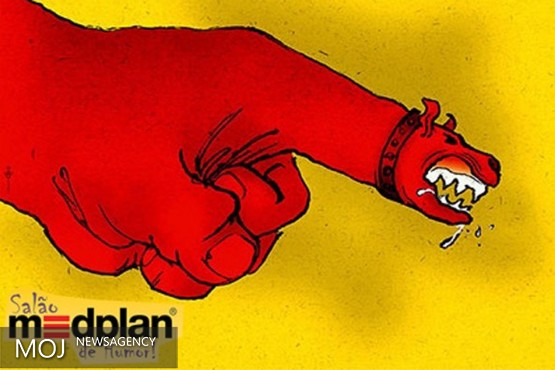 اثر کاریکاتوریست لرستانی بین برگزیدگان جشنواره جهانی مدپلن قرار گرفت