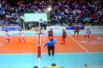 واگذاری نتیجه بازی والیبال شهرداری گنبد به فولاد سیرجان