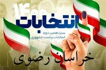 اعلام نتایج نهایی آراء شورای اسلامی شهرستان درگز