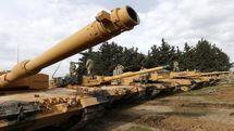 رزمایش نظامی مشترک ترکیه و جمهوری آذربایجان در مرز ارمنستان
