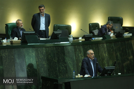 جلسه استیضاح وزیر امور اقتصادی و دارایی