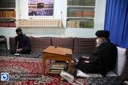 دیدار فرمانده قرارگاه فرهنگی جهادی حضرت مهدی (عج) با مراجع