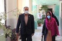 دیدار نماینده یونیسف در ایران با رئیس سازمان جوانان هلال احمر