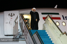 رئیس جمهور راهی تهران شد