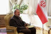 دیدار لاریجانی با رئیس کمیسیون امنیت ملی دومای روسیه
