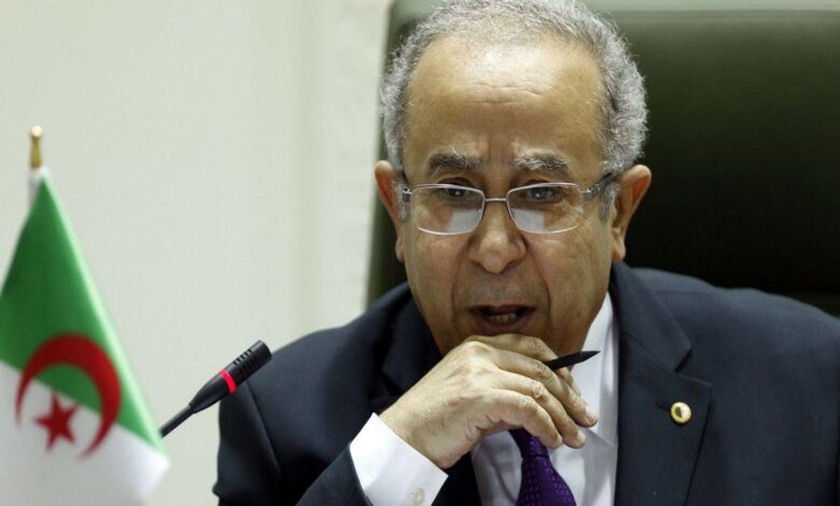 اعلام آمادگی وزیر خارجه الجزایر برای سفر به تهران