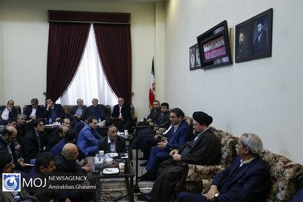 تجدید میثاق مدیران و کارکنان وزارت صمت با آرمانهای امام راحل (ره)
