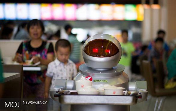 رباتهای رستوراندار + تصاویر