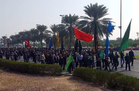 ساعت آغاز مراسم جاماندگان اربعین در میدان امام حسین (ع)