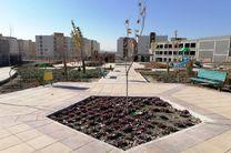 عملیات اجرایی تکمیل بوستان محله هفت مسکن مهر در پردیسان آغاز شد