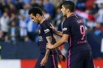 باشگاه بارسلونا: نیمار امشب بازی نمیکند