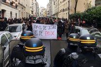 تظاهرات دانشآموزان در پاریس در اعتراض به خشونتهای پلیس فرانسه