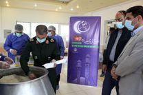 مشارکت سپاه بیت المقدس در طرح اطعام نیازمندان در کردستان