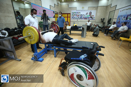دوازدهمین مرحله اردوی تیم ملی وزنه برداری جانبازان و معلولین