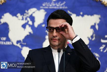 نشست خبری سید عباس موسوی سخنگوی وزارت امور خارجه