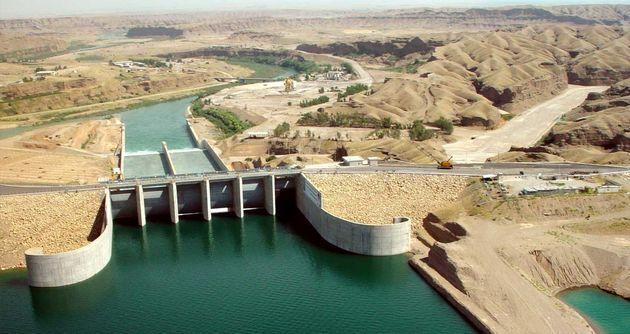 کاهش ۴۰درصدی حجم ورودی آب به سدهای کرخه و سیمره