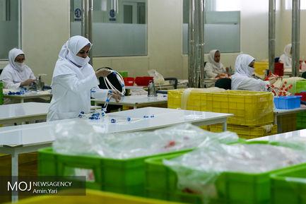 بازدید از مرکز تولید و توزیع دارو،تجهیزات پزشکی جمعیت هلال احمر