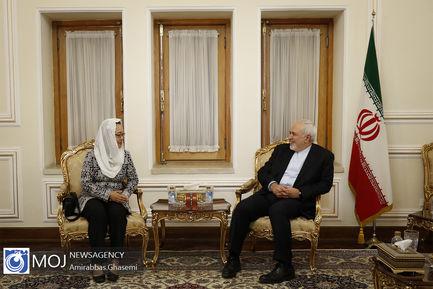 دیدار معاون دبیر کل سازمان ملل متحد در امور اسکاپ با ظریف