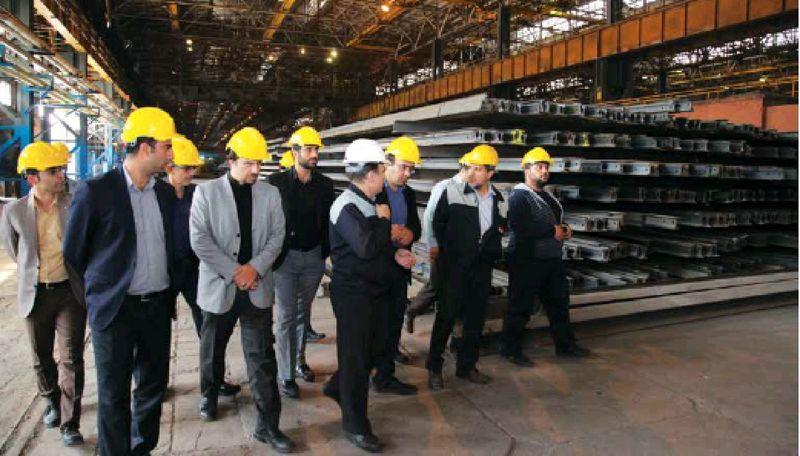 تولید ریل توسط ذوب آهن نقطه اتکایی برای ناوگان ریلی کشور محسوب می شود