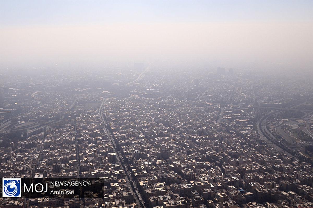 آسمان پایتخت غبارآلود میشود