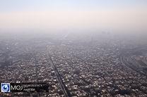 هوای تهران برای همه افراد جامعه همچنان آلوده است