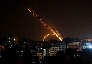 شلیک ۲۰ راکت از غزه به جنوب اراضی اشغالی/ آژیرهای هشدار به صدا در آمد