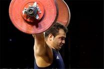 مرادی به عنوان بهترین وزنه بردار هفته سوم لیگ برتر انتخاب شد