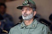 فرمانده کل ارتش وارد خوزستان شد