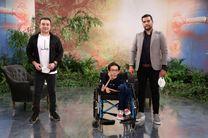 سپند امیر سلیمانی میزبان یکی از ده جوان تاثیر گذار دنیا با ٩٨ درصد معلولیت می شود