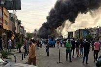 انفجار بمب در نزدیکی محل اقامت یک مقام امنیتی عراق